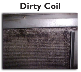 dirt coil in duct maintenance